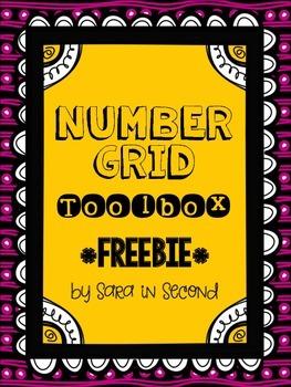 Number Grid Toolbox FREEBIE