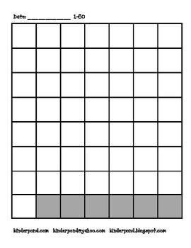 Number Grids 1-100