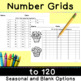 Back to School:  Number Grids Galore for First Grade (Comm