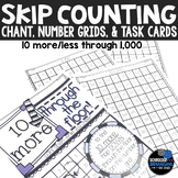 10 more 10 less hundreds chart and number grid skip counting