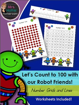 Number Grids and Number Lines to 100