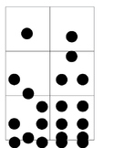 Number Groupings or Dominoes Cards
