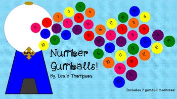 Number Gumballs!
