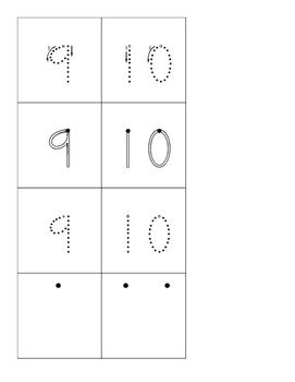 Number Handwriting Practice