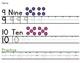 Number Handwriting Practice 6-10