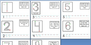 Number Handwriting Practice Book