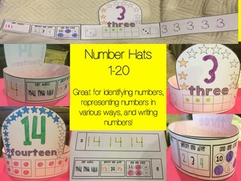 Number Hats 1-20
