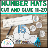 Number Hats Cut and Glue 11-20