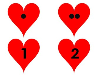 Number Hearts