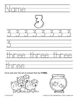 Number Homework 1-10