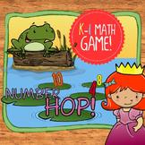 Number Hop Math - Counting, Math Symbols, & Number Comparison