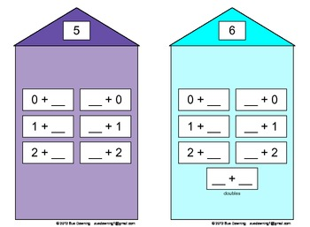 Number Houses – Fact Practice