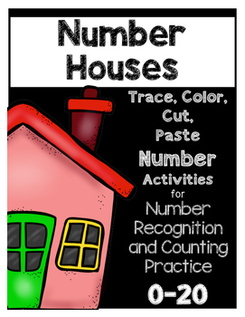 Number Houses Sort--Print and Go!