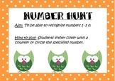 Number Hunt 1 - 10