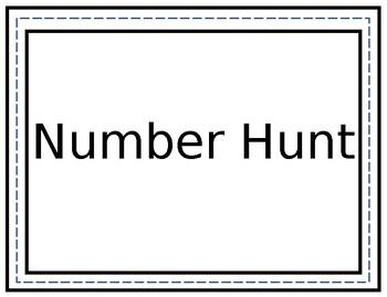 Number Hunt 1-10