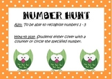 Number Hunt 1 - 5 Freebie