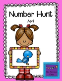 Number Hunt April