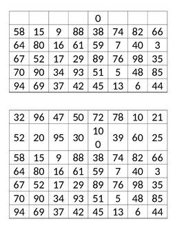 Number Hunt - Game