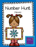 Number Hunt January