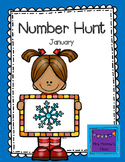 Number Hunt January