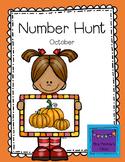 Number Hunt October