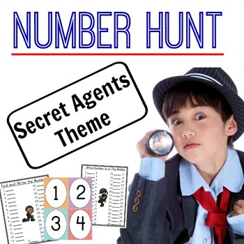 Number Hunt - Secret Agents Theme