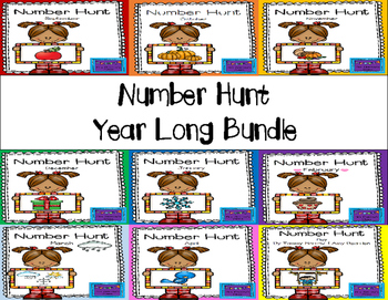 Number Hunt - Year Long Bundle