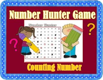 Freebie!! Number Hunter Game