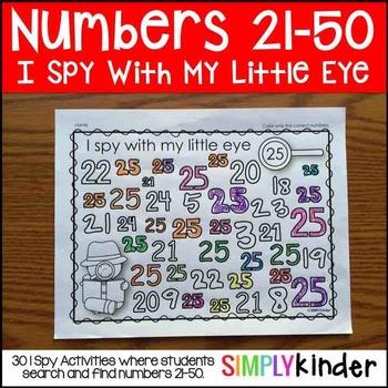 Number I Spy (21-50)