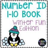 Number ID 1-10 Book: Winter Fun Edition