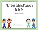 Number ID Dab It - Community Helpers Theme