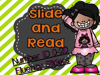 Number ID Fluency Sliders 0-20