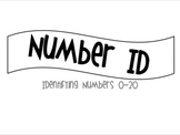 Number ID: Identifying Numers 0-20