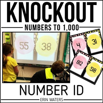 Number ID Math Game | KNOCKOUT | Numbers 1-1,000 | Distance Learning