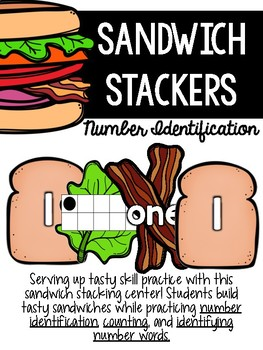 Number ID Sandwich Stackers