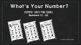 Number ID and Number Words  11-20