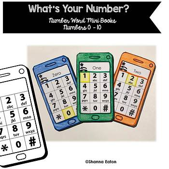 Number ID and Number Words - NO PREP