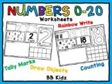 Number Identification 0-20