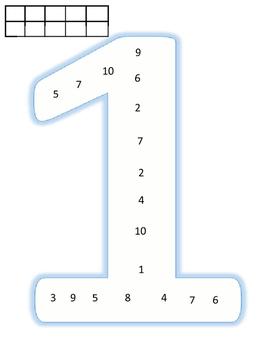 Number Identification 1-10