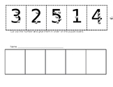 Number Identification 1-5