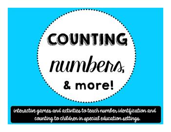 Number Identification Activities - Bingo and MORE!