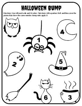 Number Identification Activities Halloween Number Identification Halloween Games