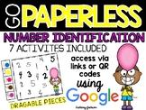 Number Identification Activities using Google Slides