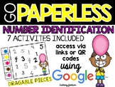 Number Identification Activities using Google Slides