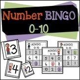 Number Bingo 0-10