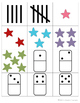 Number  Identification Board Game: Numbers 1-5 (Spanish an
