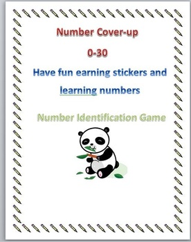 Number Identification Cover-up