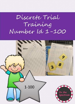 Number Identification Discrete Trial Training