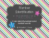 Number Identification **FREEBIE**
