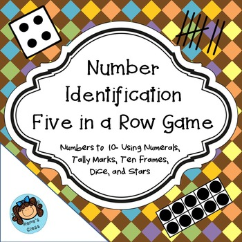 Number Identification Five in a Row